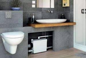 Насосы для подвесного туалета и всей ванной комнаты